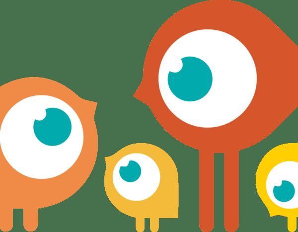 Samolepka Ptáci Rodina, samolepka na auto, sklo, notebook. Vinylová samolepka Ptáci Rodina
