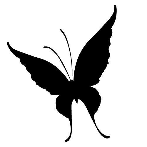 Samolepka Motýl, samolepky na sklo Motýl v Brně