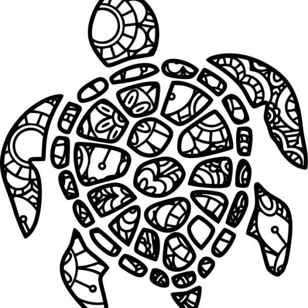 Originální samolepka Mandala-Želva dle vašeho vlastního výběru. Buďte kreativní a nechte si vytvořit originální samolepku na auto s veselým vzorem a textem libovolného písma, a také velikosti dle vlastního požadavku