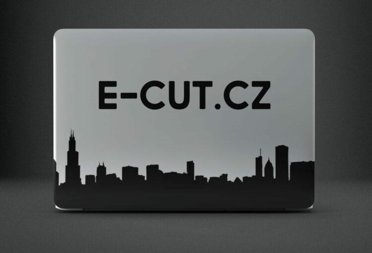 Vinylové nálepky na notebook, výroba samolepek