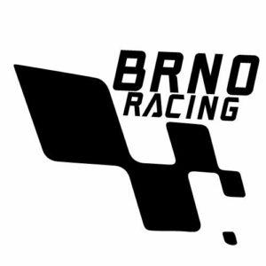 Samolepka Brno racing, samolepky na sklo Brno racing v Brně