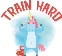 Motivační hrnek Train Hard hrnek Train Hard