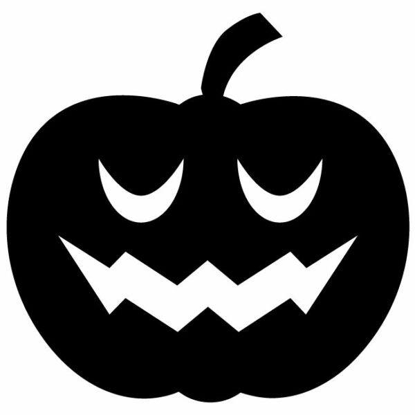 Samolepka Dýně Halloween 👻 na auto, samolepky na sklo, zeď.