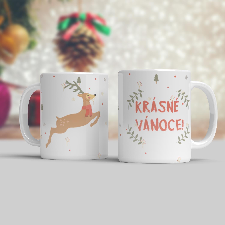 Vánoční hrnek Krásné Vánoce