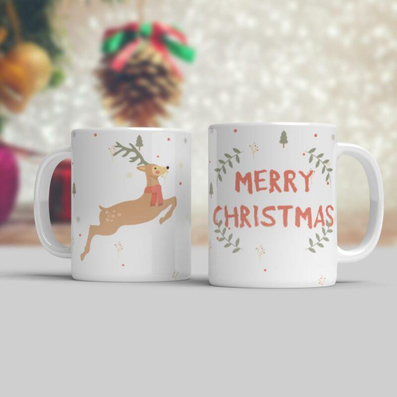 Vánoční hrnek Merry Christmas