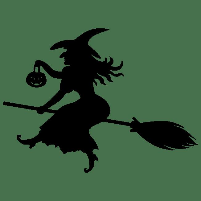 Samolepka Čarodějnice Halloween na auto, zeď nebo sklo Brno