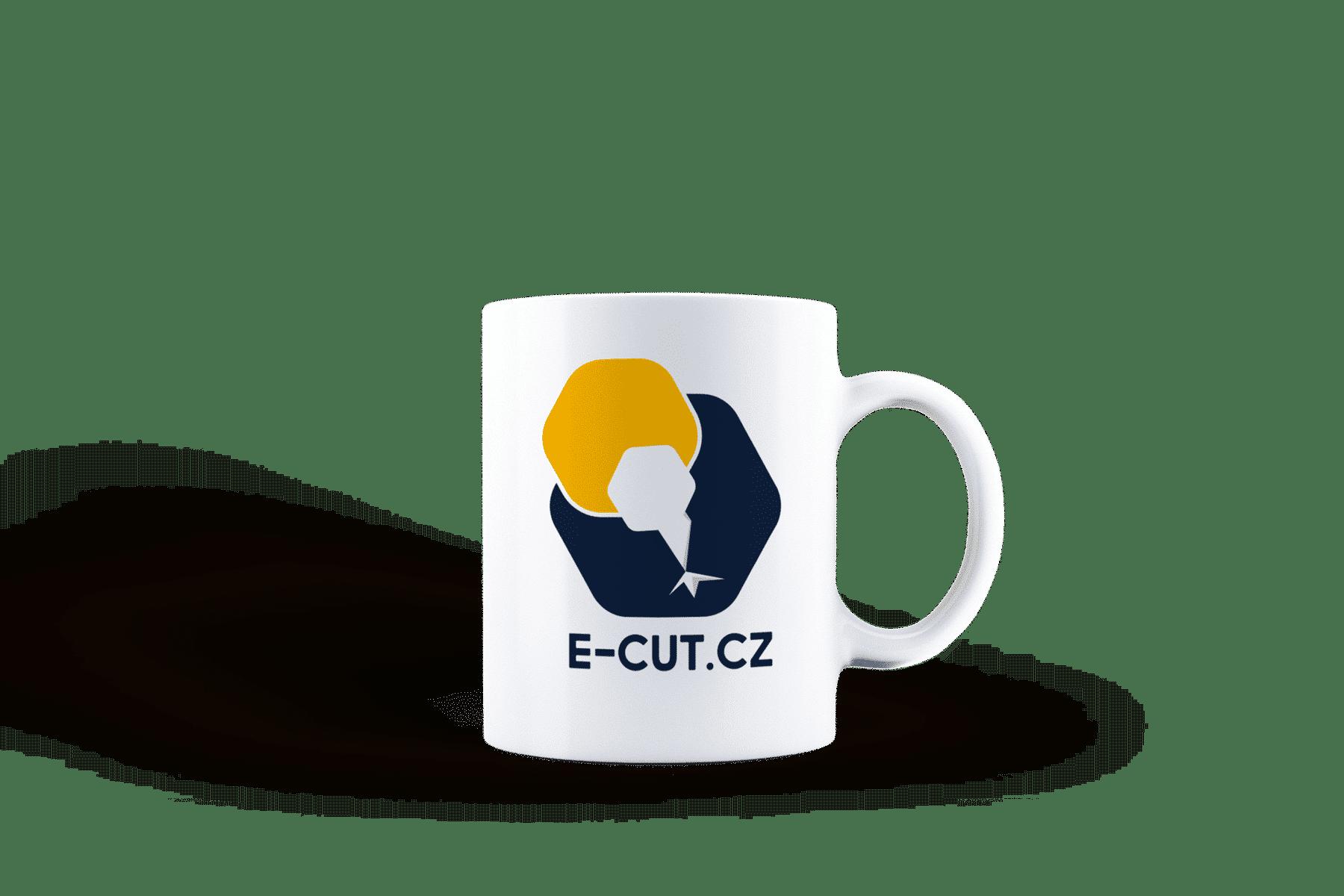 REKLAMNÍ HRNEK S POTISKEM E-CUT.CZ