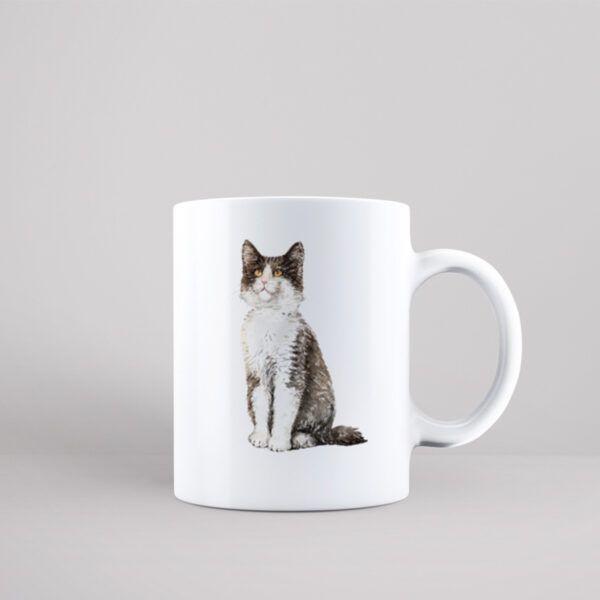 Hrnek s kočkou Norská lesní kočka