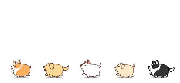Bílý keramický hrnek Tlustí psi, varianta 3