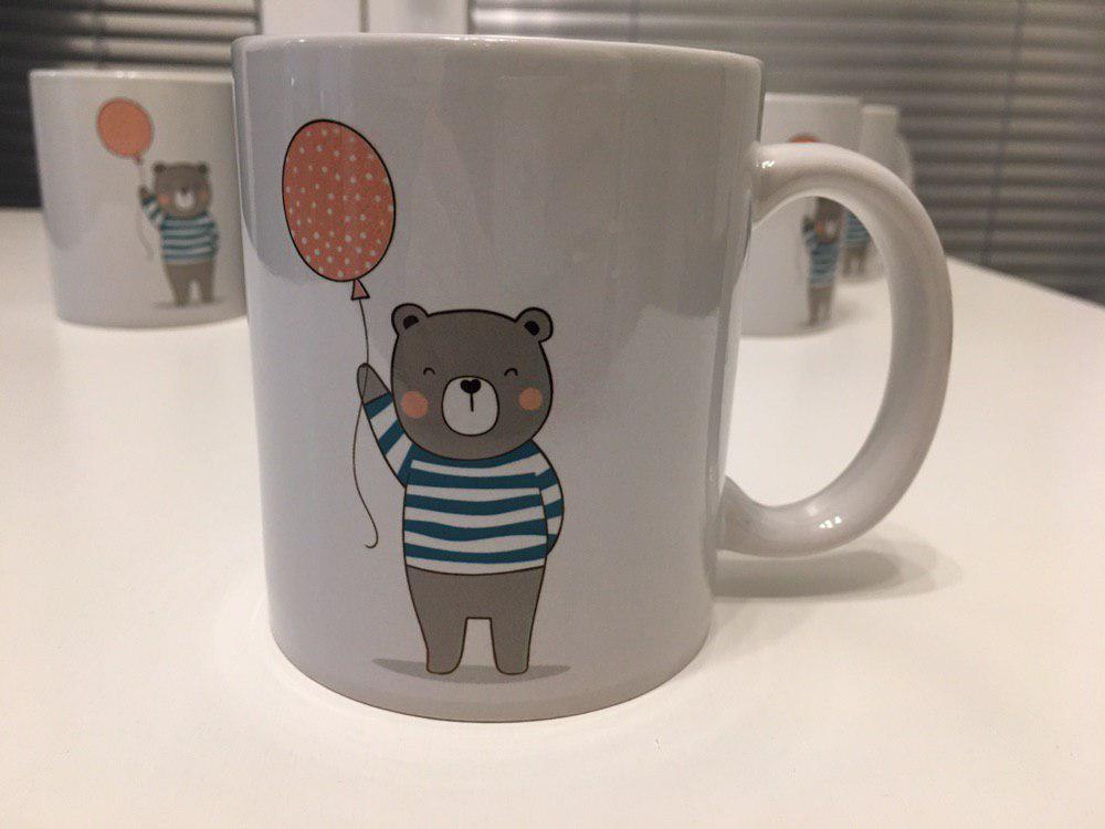 Hrnek se jménem pro děti – Medvídek