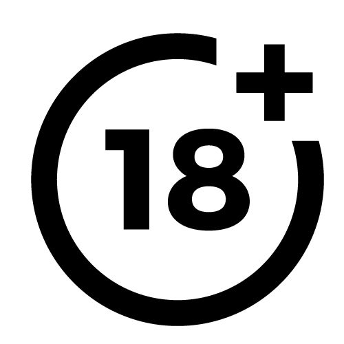 Samolepka 18+ na auto, zed', výlohu v Brně
