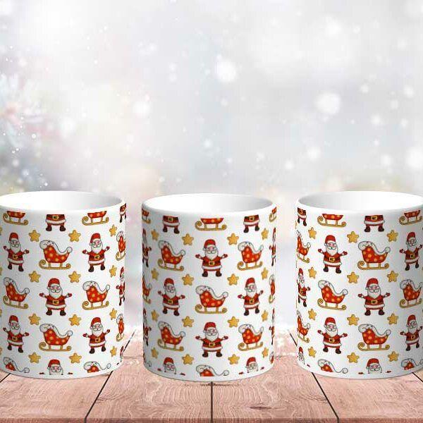 Vánoční hrnek Santa Claus