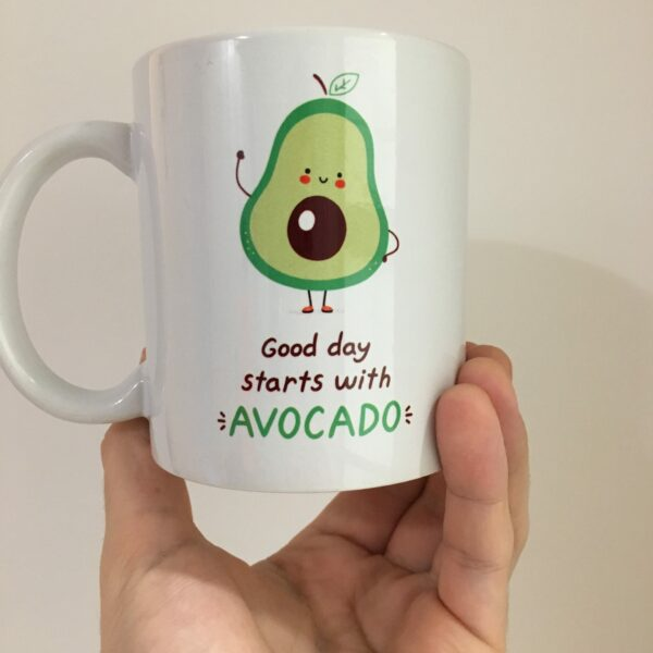 hrnek Good day starts with AVOCADO