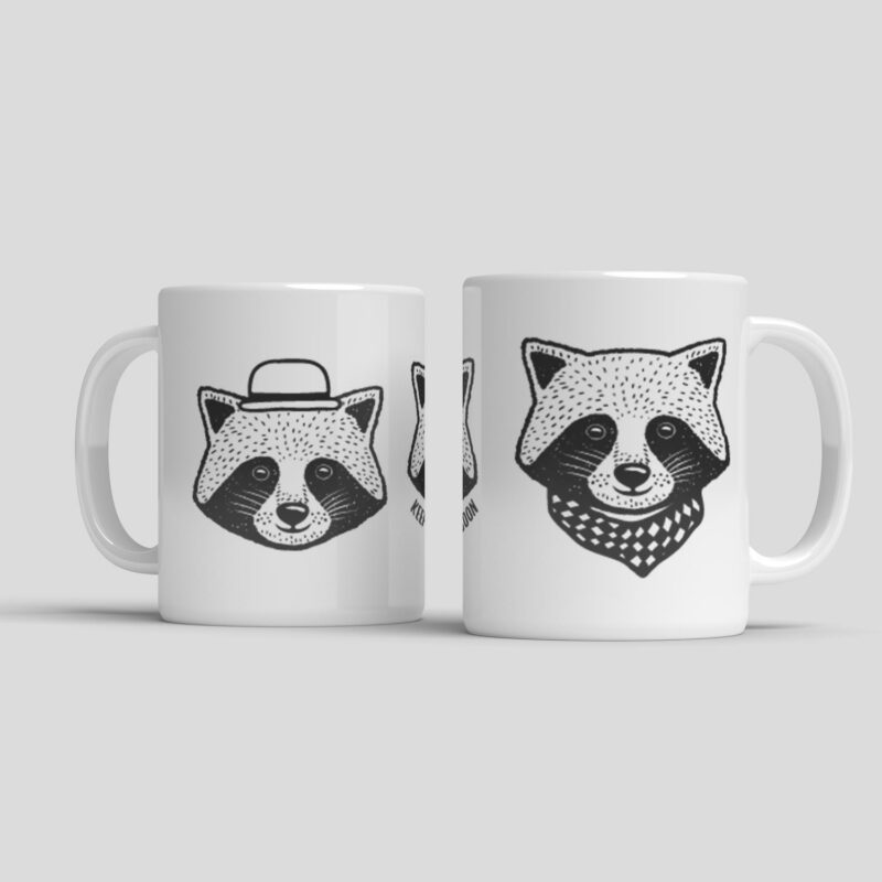 Hrnek Keep Calm And Be A Raccoon