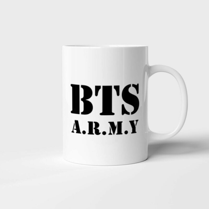 Hrnek BTS ARMY s potiskem