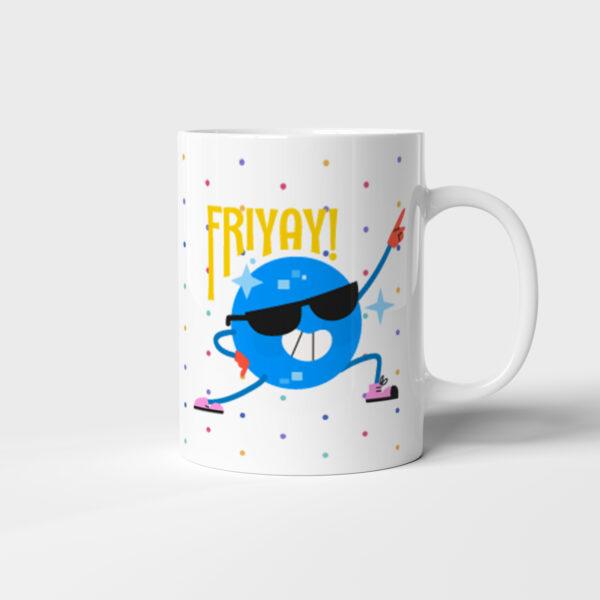 Hrnek Friyay! s potiskem