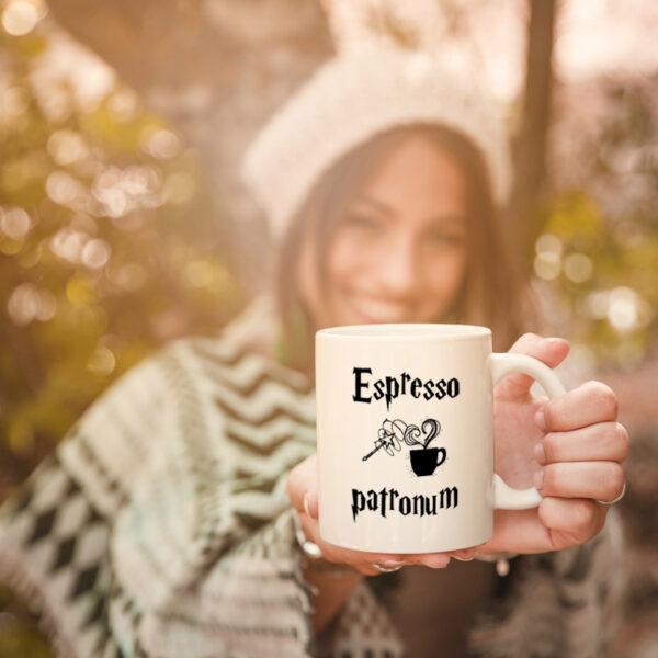 Hrnek Espresso Patronum