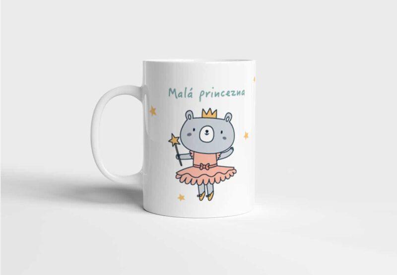 Hrnek se jménem Malá princezna s potiskem