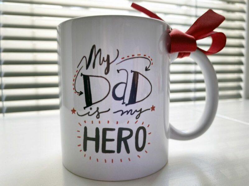 Hrnek pro tatínka My Dad Is My Hero