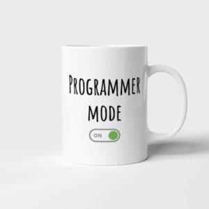 Hrnek pro programátora Programmer Mode s potiskem