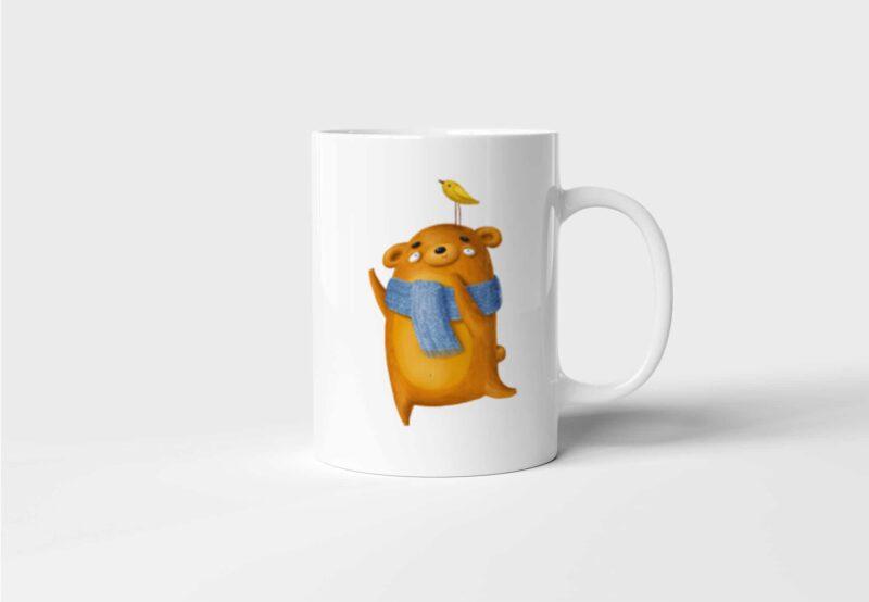 Hrnek Medvídci - Láska s potiskem