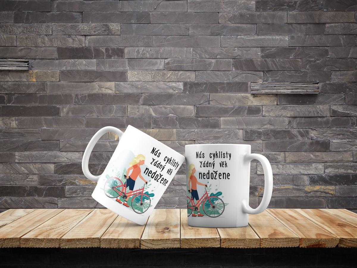 hrnek Nás cyklisty žádný věk nedožene