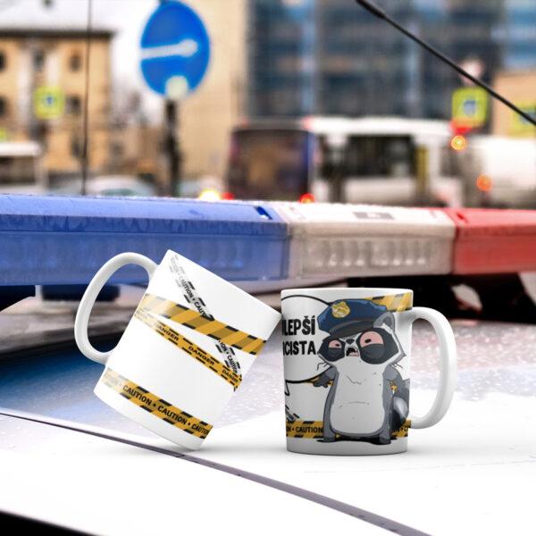 Hrnek Nejlepší policista s potiskem