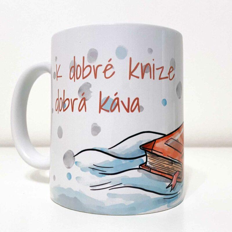 Hrnek K dobré knize dobrá káva