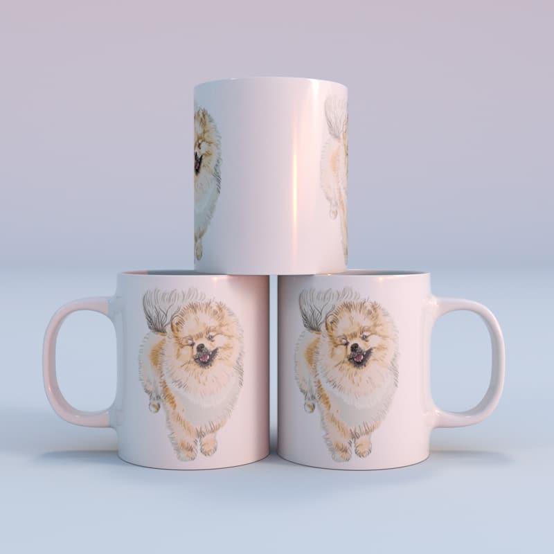 Hrnek Pomeranian