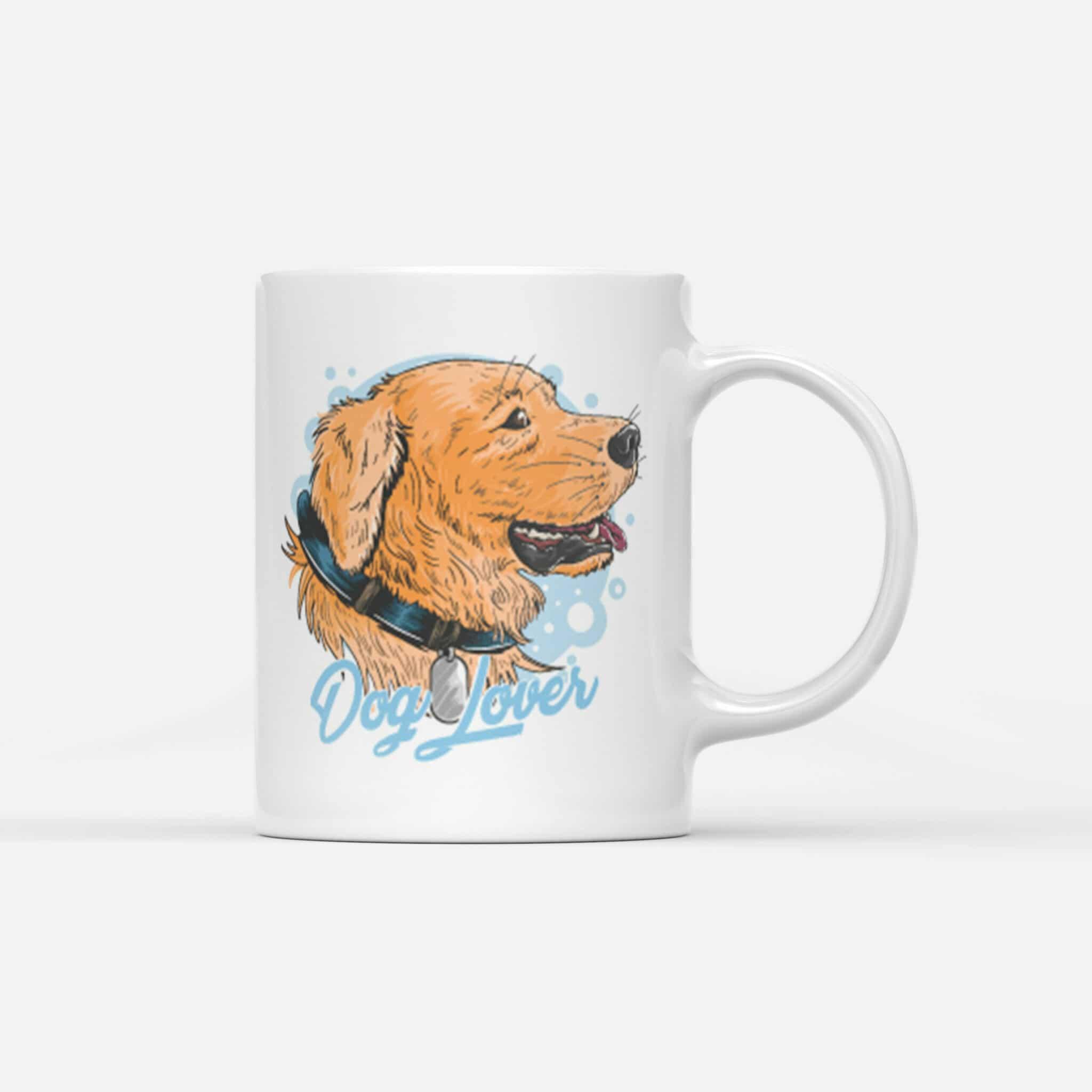 Hrnek Dog Lover s potiskem