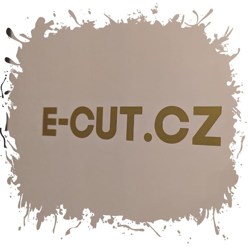 E-cut cz rezana grafika