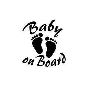 Samolepka BABY ON BOARD