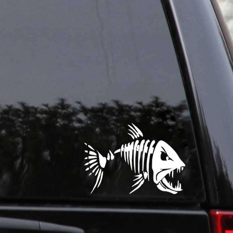 Samolepka Mad Fish na auto