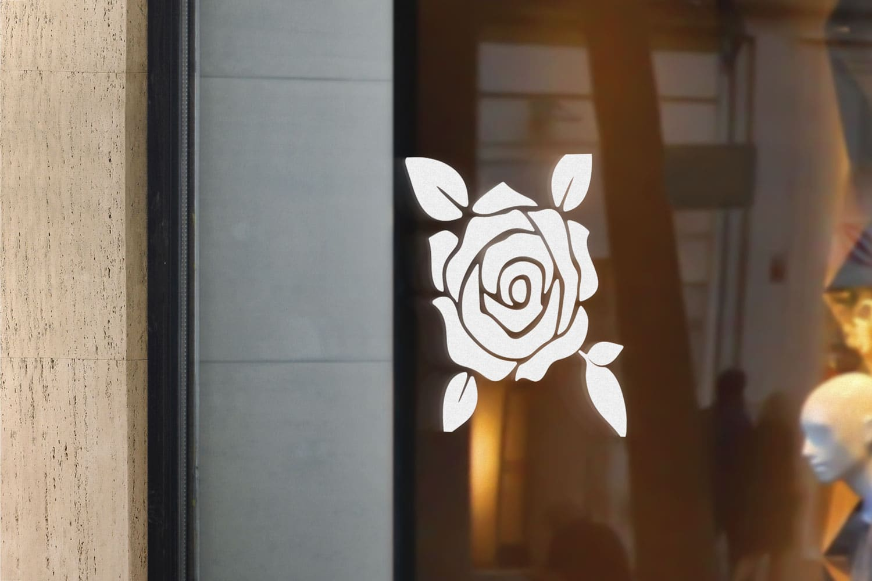 Samolepka Růže