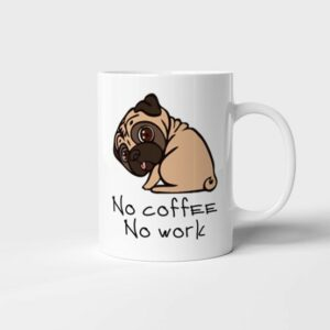 Hrnek No Coffee No Work