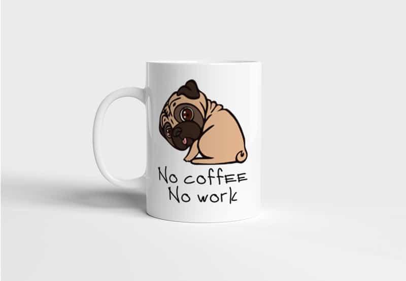 Hrnek No Coffee No Work