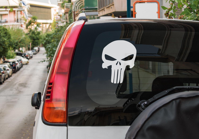 Samolepka Lebka na auto
