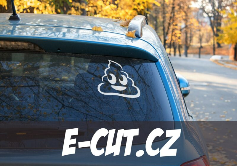 Samolepka Lejno Emoji na auto