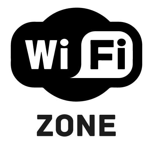 Samolepka WiFi Zone