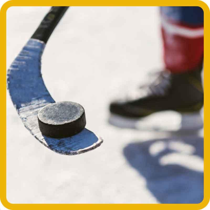 Hokejové samolepky