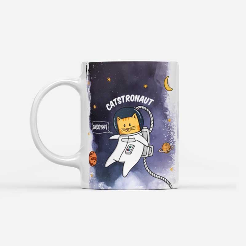 Vynikající hrnek Catstronaut