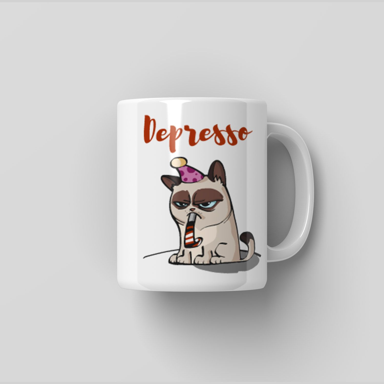Originální hrnek Depresso