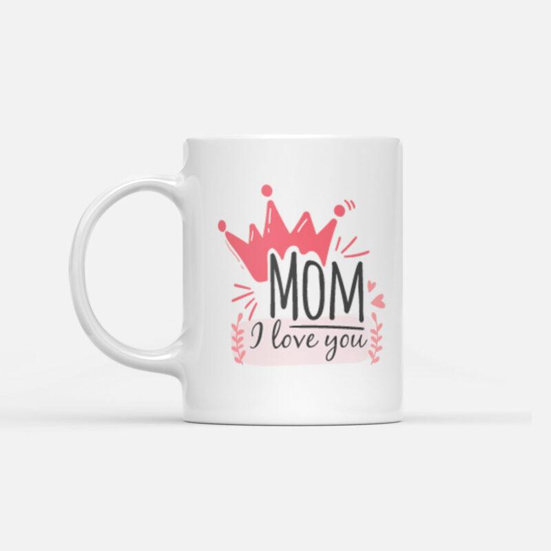 Hrnek Mom I Love You pro maminku