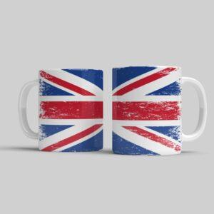 Hrnek s anglickou vlajkou
