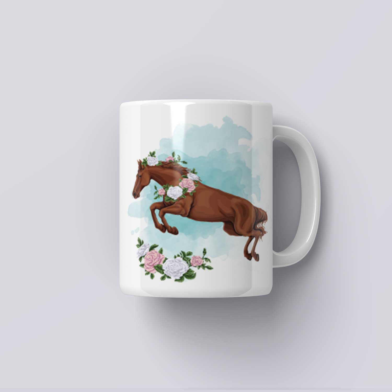 Hrnek s koněm (váš text)