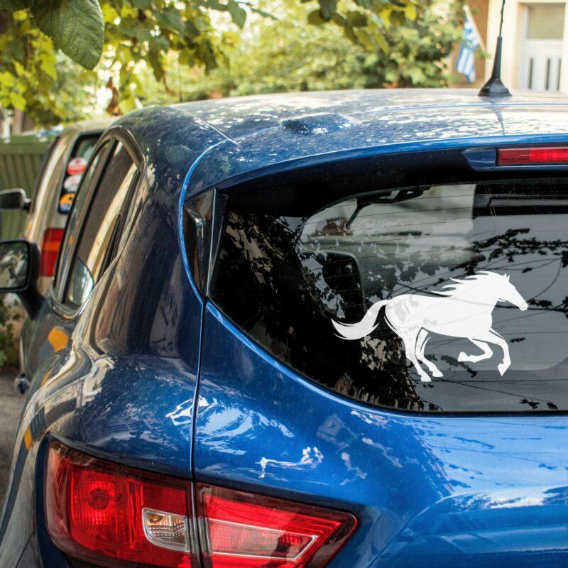 Samolepka Kůň na auto