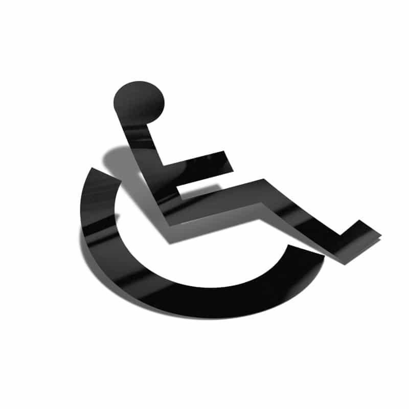 Samolepka Vozíčkář, Invalida