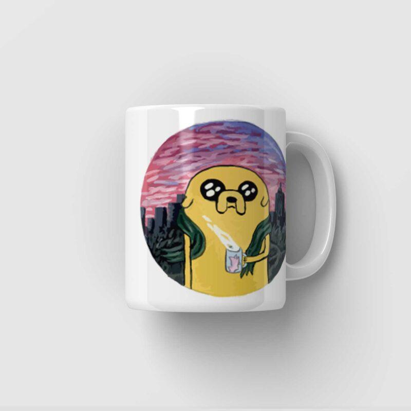 Hrnek Adventure Time Jake - FanArt