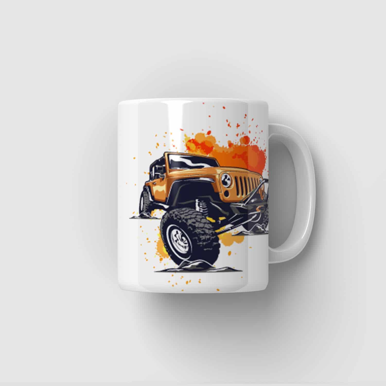 Hrnek Jeep Wrangler Rubicon 4x4