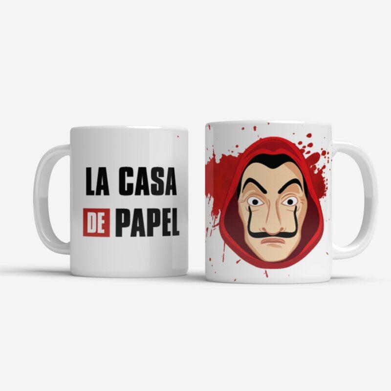 Hrnek LA CASA DE PAPEL | Papírový dům